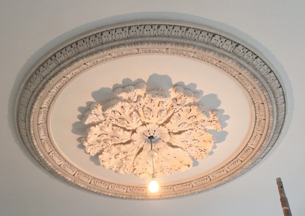 plaster work, centre piece, ceiling rose